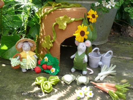 Blog foto muis in de tuin blog