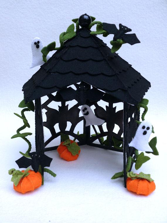 Paviljoen met tuin v e