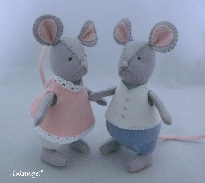 Pyjama muizen voor etsy