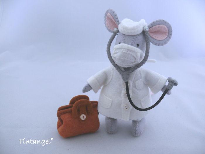 Dokter muis landscape etsy