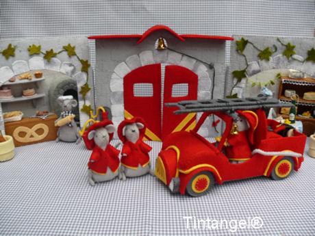 Brandweerkazerne in de straat blog
