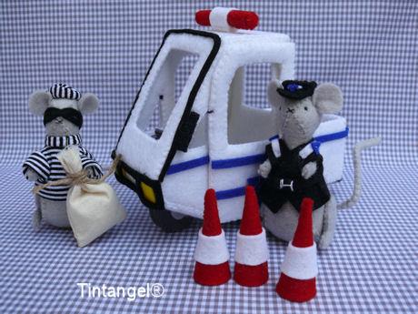 Politieauto set 460