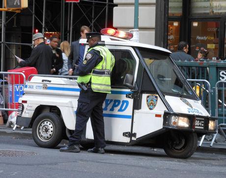 NewYork Police Department car