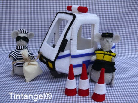 Politieauto NL uniforrn blog