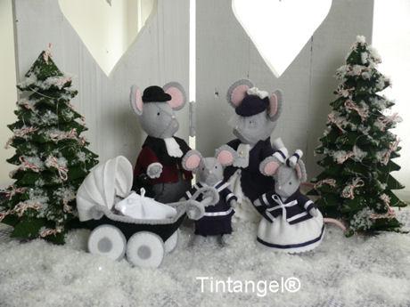 Dickensmuizen Kerstfeer gezin klein blog