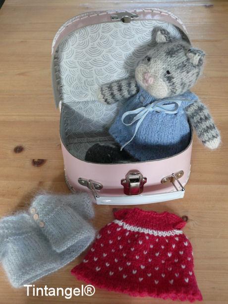 Katje in koffer