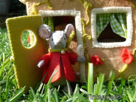 Muis in de tuin