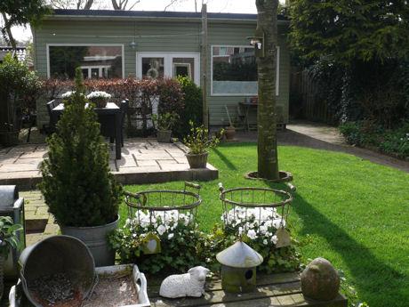 Tuin en atelier