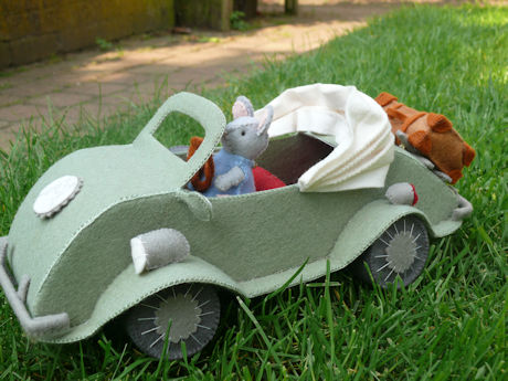 Muis in auto