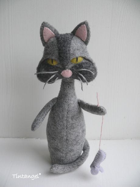 Kat voor bloot verb b