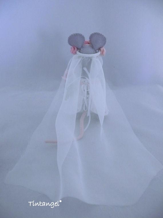 Muizen bruid achter etsy