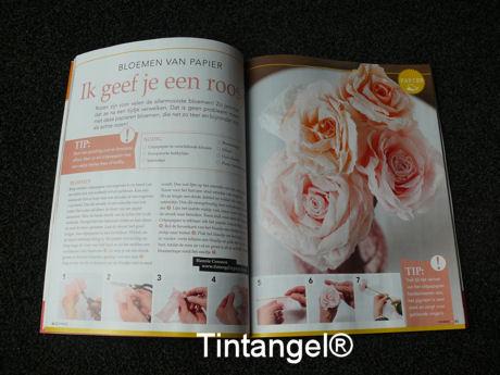 Creatief+ paper Roses