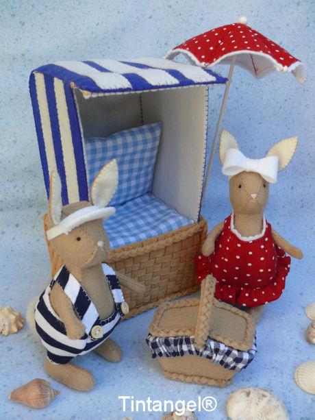 James en Martha met strandstoel blog