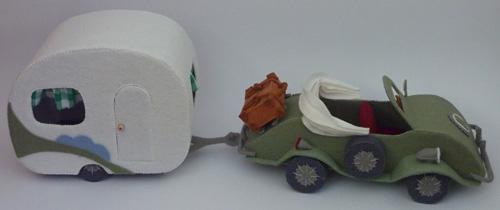 Mousemobiel en caravan