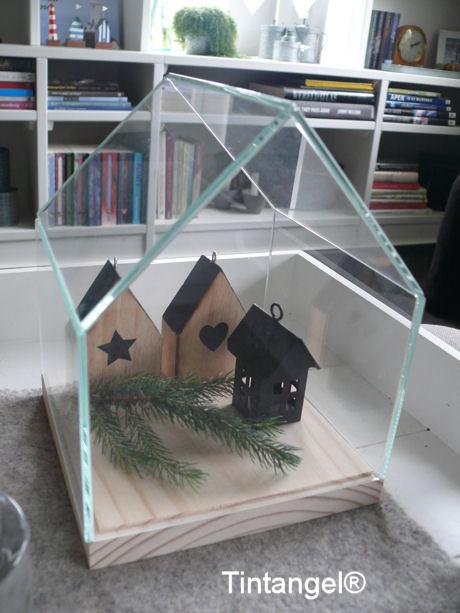 Glazen huisje