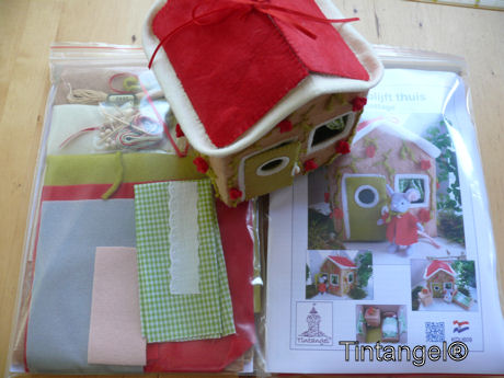 Pakketten met huis blog