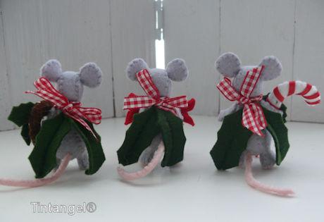 Snoepmuisjes achter blog