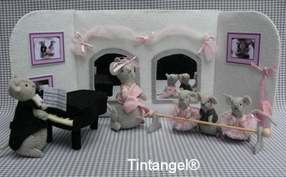Balletschool Mimi compleet.