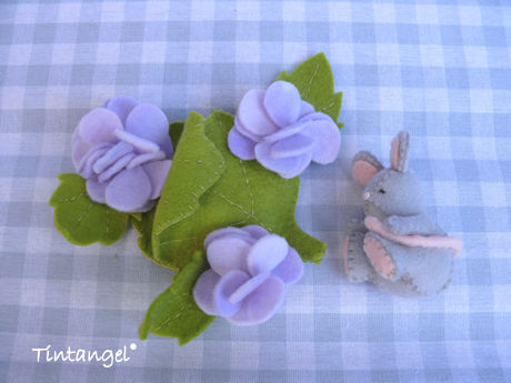 Hortensia muis v b