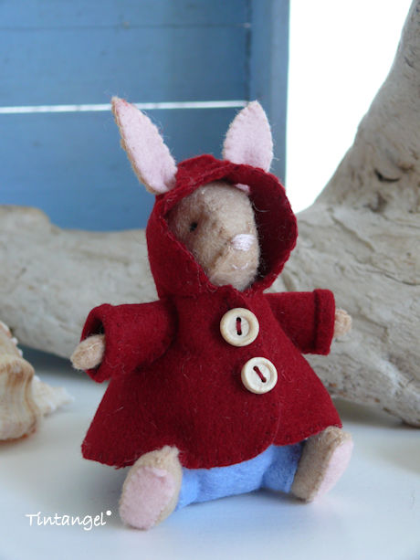 Bunny jas capuchon op voor b