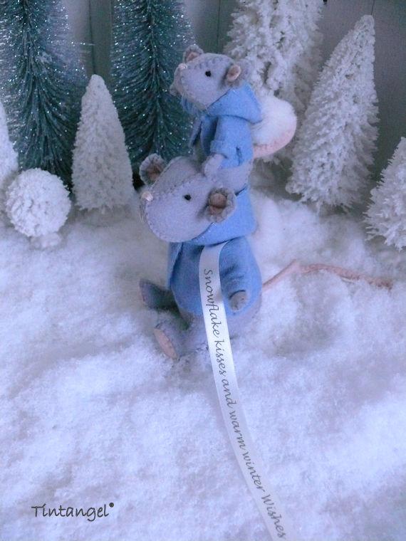 Sneeuwmuis C etsy