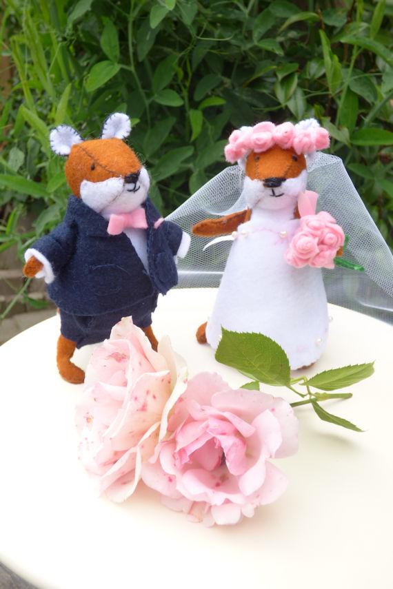 Bruidspaar vos 1