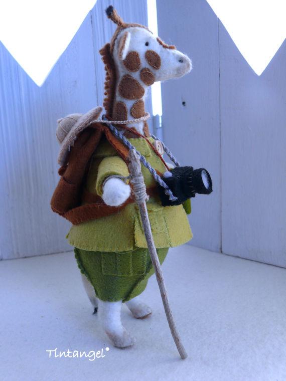 Giraf safari 4 etsy