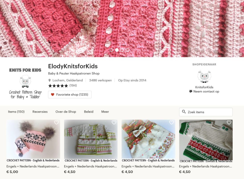 Shop Elody knits for kids