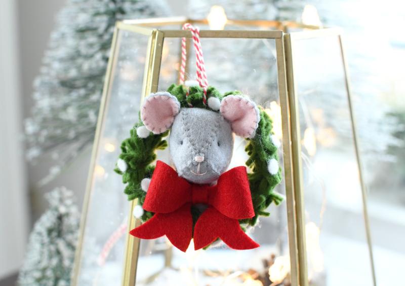 Kerstkransmuisje blog saskia