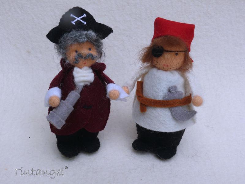 E piraat en kapitein