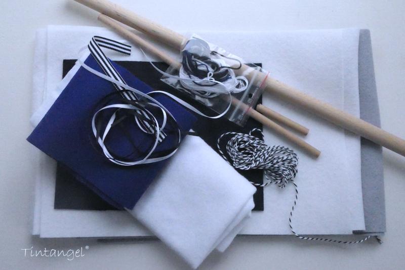 Materiaalpaket boot en matrozen kleding
