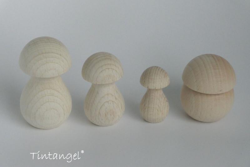 Etsy paddenstoeltjes hout