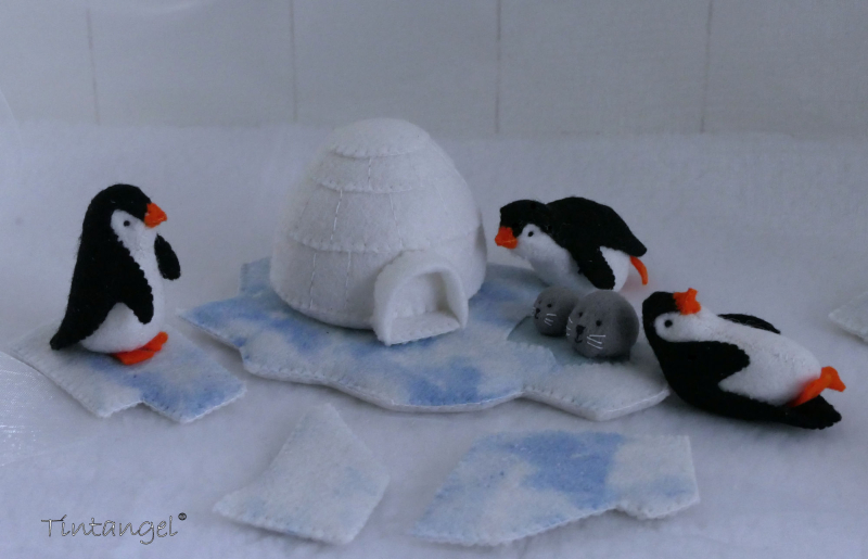 Etsy iglo en pinguins