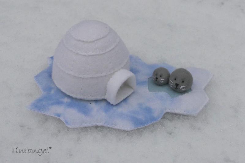 Etsy Iglo in de sneeuw